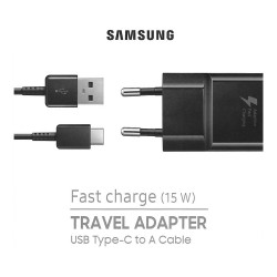Cavo USB-C e Caricatore USB-A Fast Charge 15W Samsung